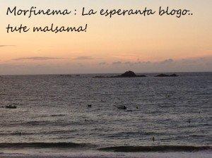 Morfinema: la esperanto blogo.. tute malsama! https://morfinema.wordpress.com/